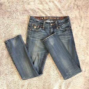 Rock Revival Size 29 Jen Straight Jeans